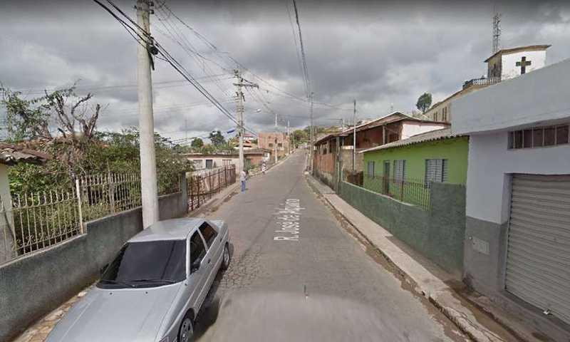 Caso ocorreu no Bairro São Geraldo, em Caeté, na Região Metropolitana de BH (foto: Reprodução/Google Street View)