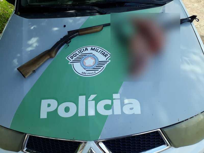 Após denúncia de caça de animal silvestre, Polícia Ambiental apreende quase 10 kg de carne de capivara em Santo Expedito, SP