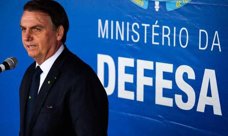 O presidente Jair Bolsonaro durante evento no Rio de Janeiro Foto: Wilton Junior/Estadão