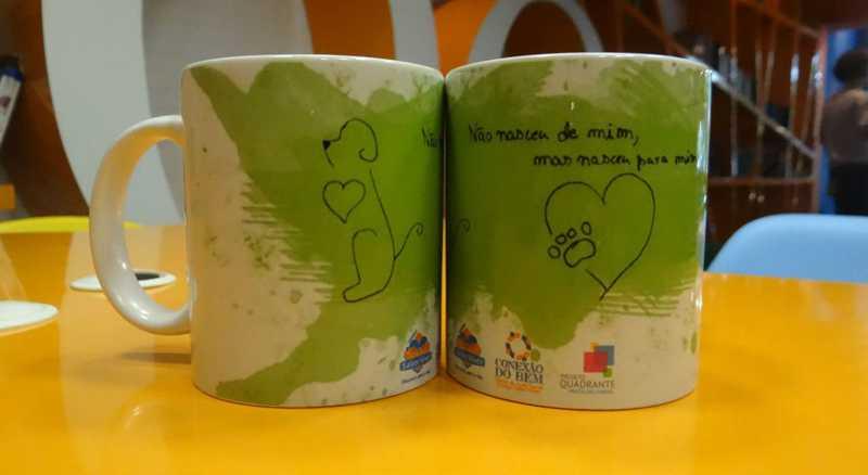 Arte foi criada pelos próprios alunos - Foto: Divulgação