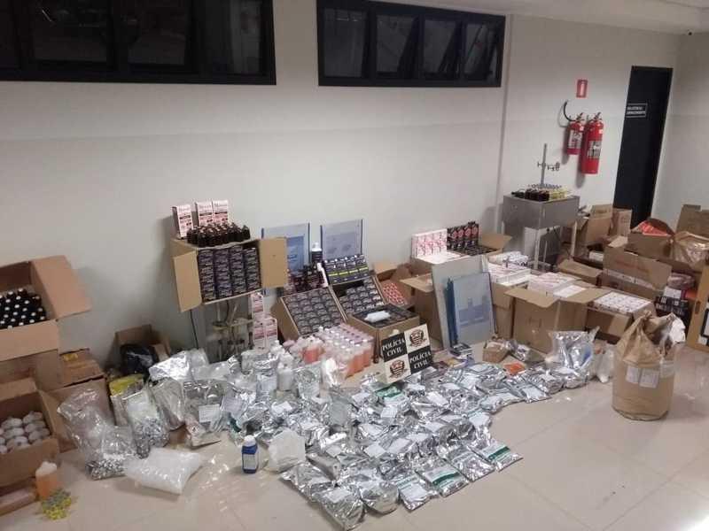 Polícia fecha laboratório clandestino de medicamentos de uso animal em Rio Preto, SP