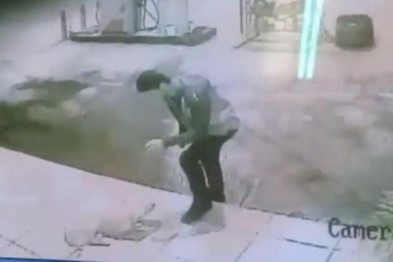 O crime aconteceu na região central da cidade de Vazante em um posto de combustíveis