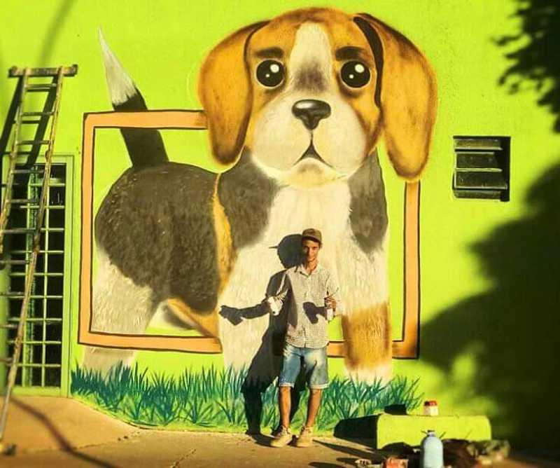 Fim dos maus-tratos: protetores buscam conscientização para a causa animal através da arte