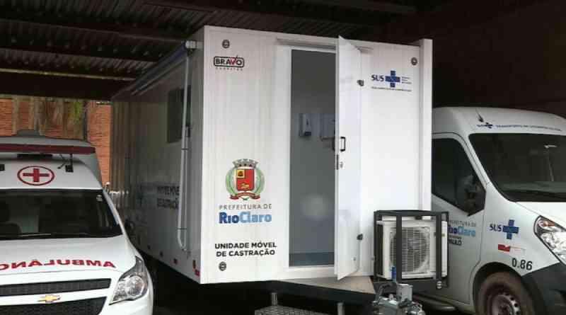 Unidade móvel de castração animal gratuita de Rio Claro (SP) está sem uso desde dezembro de 2018