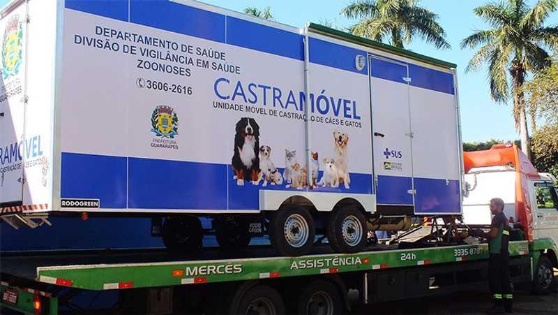 CASTRAMÓVEL Veículo vai percorrer todos os bairros da cidade/ Divulgação
