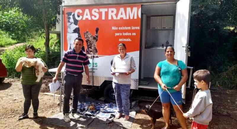 Cuidado com os animais é transformado em prevenção com o Castramóvel, que atua desde 2018 em Taquara (RS) e é pioneiro