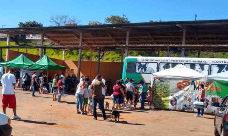 Castramóvel castrou 323 animais no último final de semana em Bragança Paulista, SP