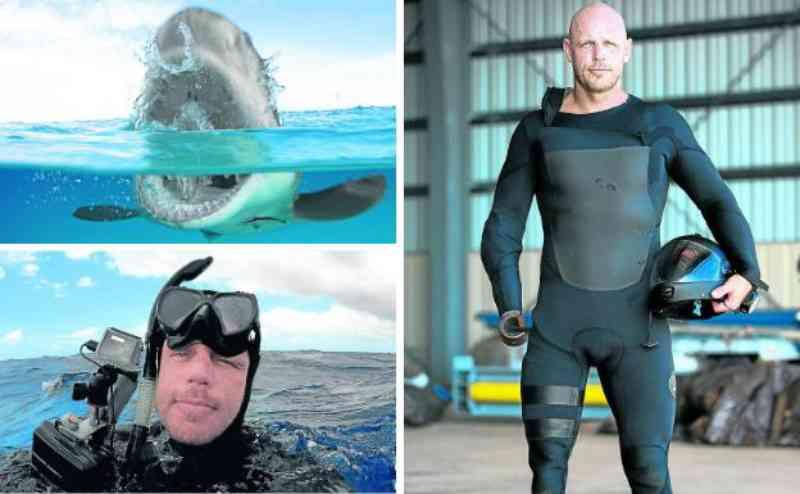 Homem que perdeu um braço e uma perna em um ataque de tubarão dedica sua vida a defender esses animais