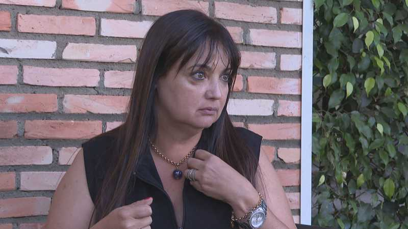 Andra Naves registrou ocorrência após a agressão — Foto: TV Globo/Reprodução