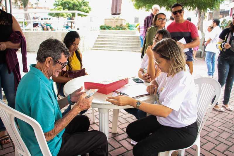 Ao todo serão distribuídas 120 fichas de atendimento. — Foto: Analdo Félix/Divulgação