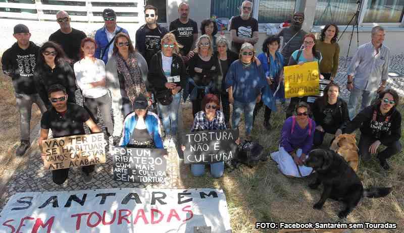 Grupos anti-touradas marcam protesto para o Cartaxo, Portugal