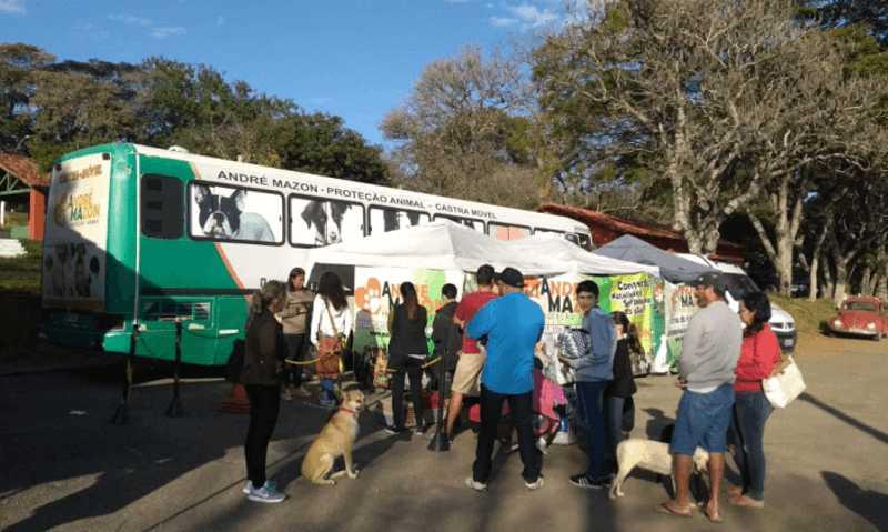 Cerca de 1.500 animais foram esterilizados pelo Castramóvel em Bragança Paulista, SP