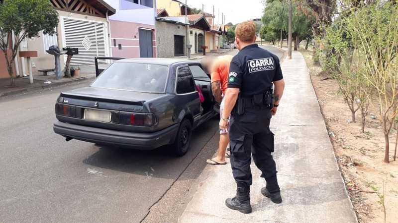 Tutor de cão queimado em Limeira foi detido — Foto: Garra Limeira