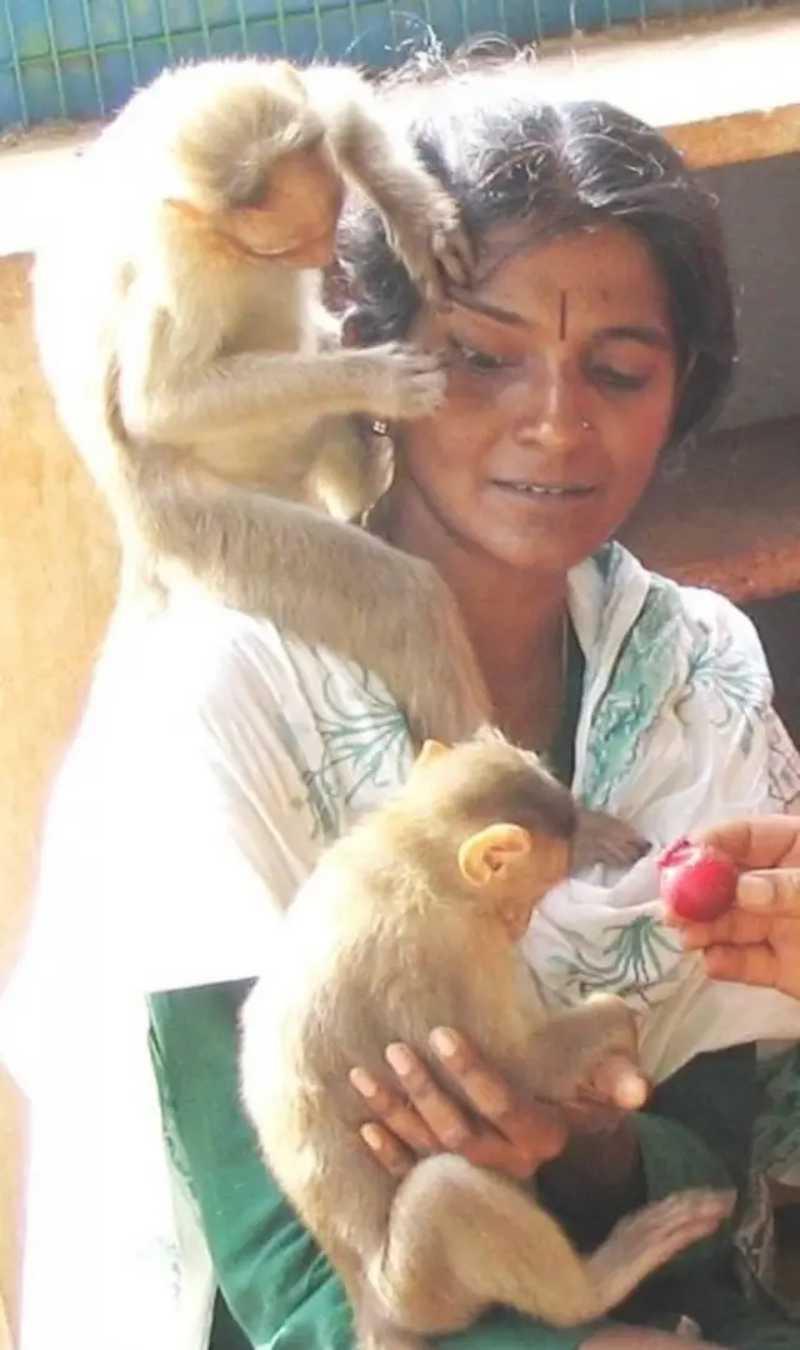 Shiranee Pereira é considerada a ativista mais fervorosa da Índia. Foto: Facebook/shiranee.pereira