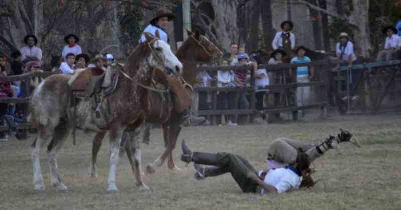Mulher interrompe rodeio em protesto contra maus-tratos a animais