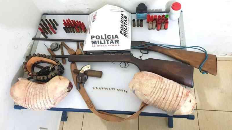 Homem é autuado em mais de R$16 mil por abate de animais silvestres em União de Minas, MG