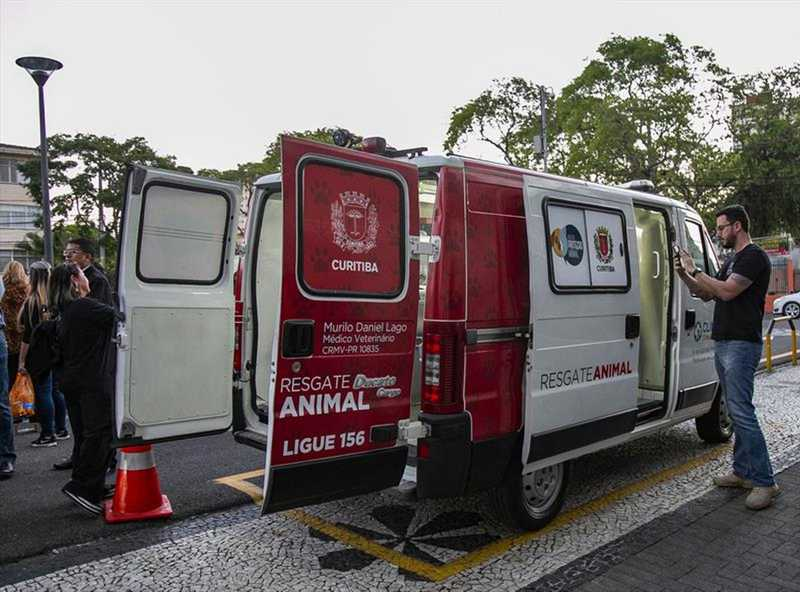 Unidade de resgate animal está funcionando, em Curitiba, desde 30 de setembro — Foto: Daniel Castellano/SMCS