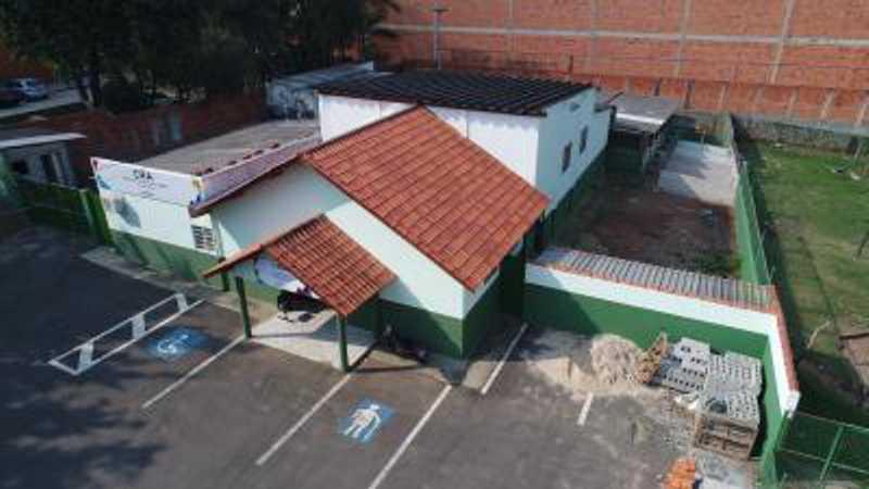 Todas as instalações já existentes passarão por obras de manutenção predial e pintura geral.