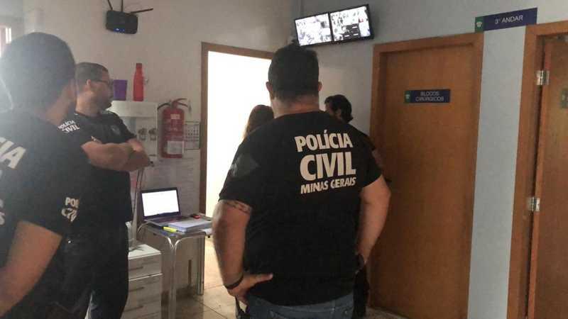 Polícia Civil faz operação contra maus-tratos de animais na Grande BH — Foto: Fernando Zuba/TV Globo