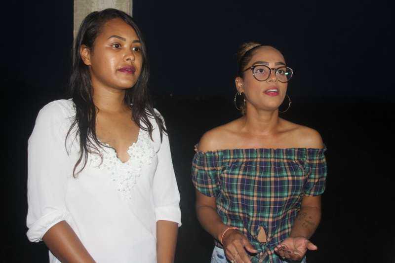Érica Diniz e Nilhya Santos contam a cena de horror que viram no abrigo
