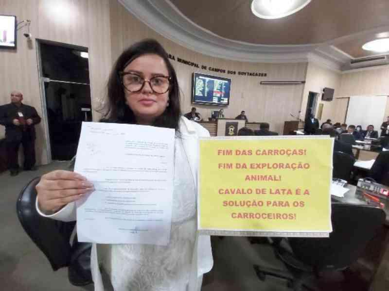 'Campos Goytacazes (RJ) se tornará a 1ª cidade do Norte Fluminense a proibir carroças tração animal'