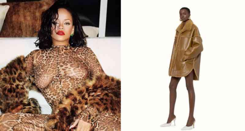 Grife de Rihanna vende casaco de pele animal e polêmica divide fãs