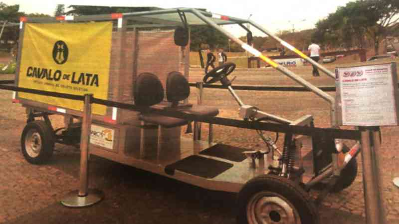 'Cavalo-de-Lata' é a sugestão de vereador para substituir carroças de tração animal em Belo Horizonte