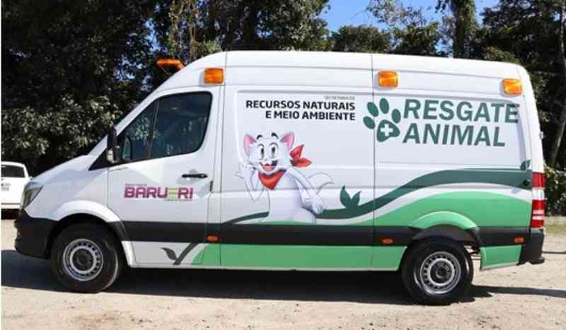 Resgate Animal oferece atendimentoemergencialem Barueri, SP