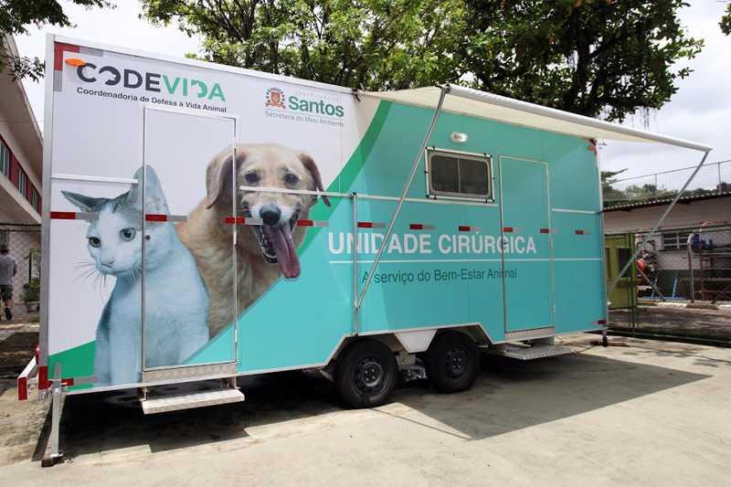 Santos (SP) dobra capacidade de atendimento veterinário