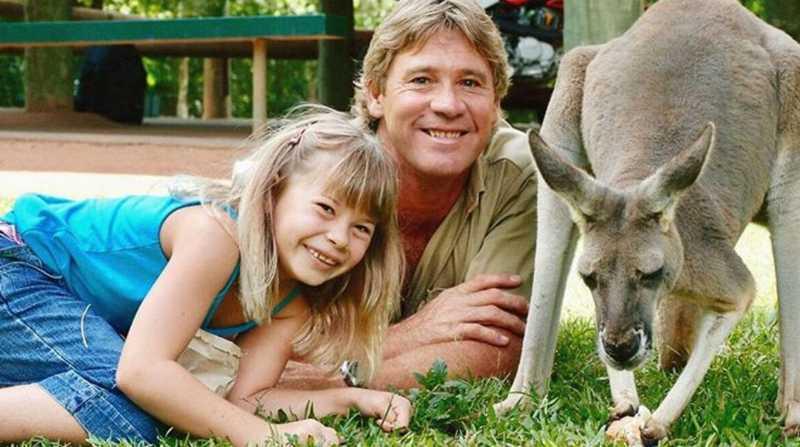 A filha de Steve Irwin está seguindo os passos do pai