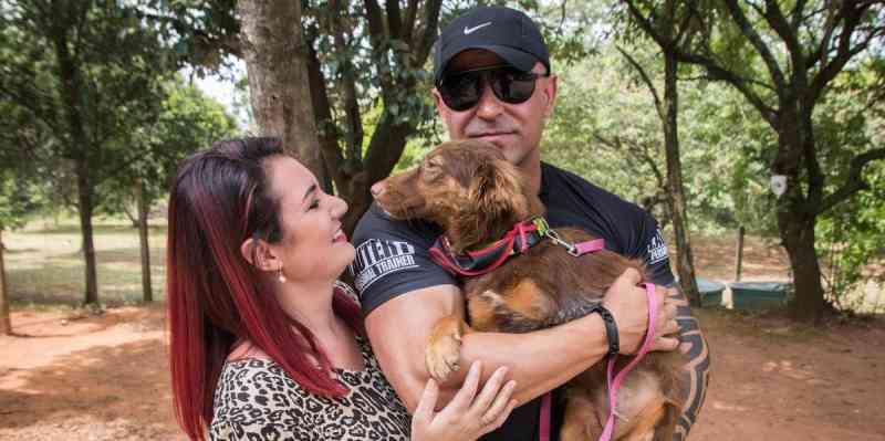 Adoções de cães deficientes aumentam em São Leopoldo, MG