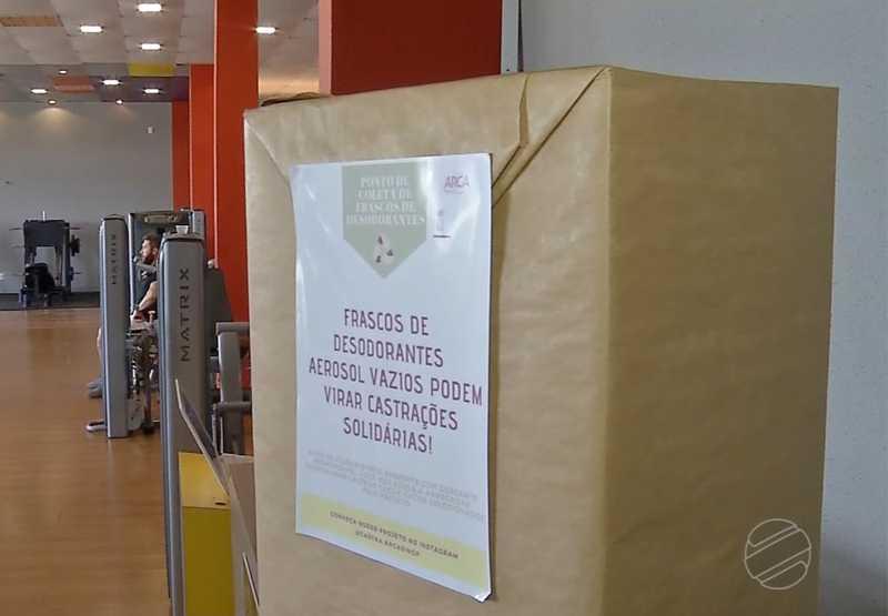 São mais de 20 locais de coleta espalhados por toda a cidade, incluindo empresas e órgãos públicos do município. — Foto: Reprodução/ TV Centro América