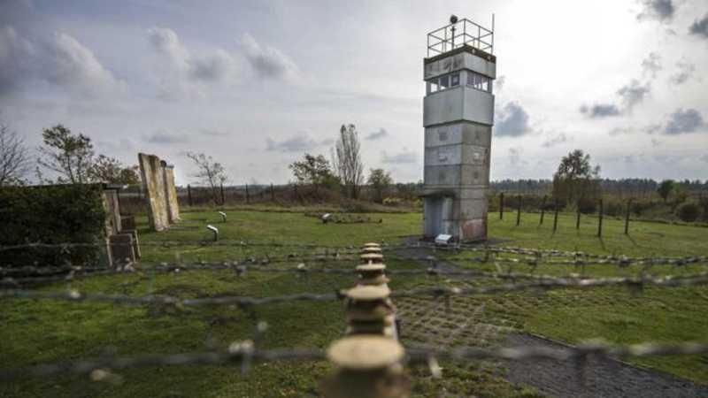 Mais de 80% da antiga fronteira interna da Alemanha agora faz parte do Cinturão Verde Europeu protegido. GETTY IMAGES