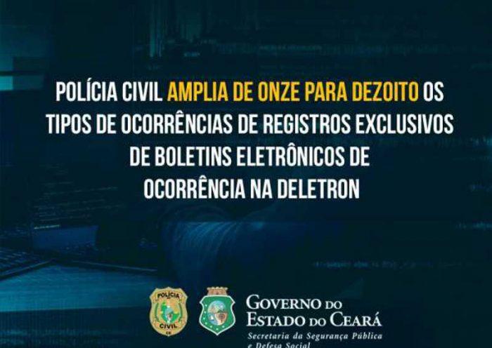 Polícia do Ceará inclui maus-tratos contra animais entre crimes que podem ser registrados via Delegacia Eletrônica