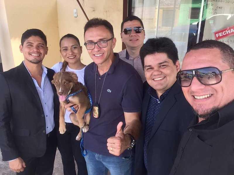 Comissão da OAB e Semma realizam resgate de cachorro que sofria maus-tratos em Santarém, PA