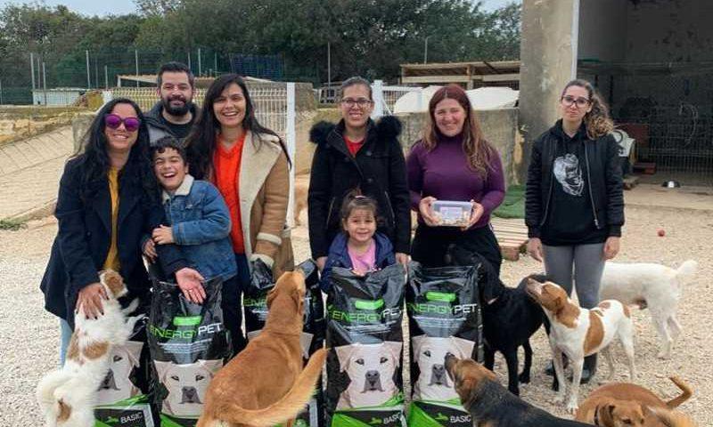 Empresa doa 700 quilos de ração a canis e associações protetoras de animais em Portugal