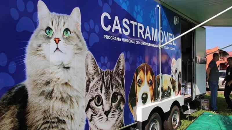 Castramóvel começa a funcionar em Londrina, PR