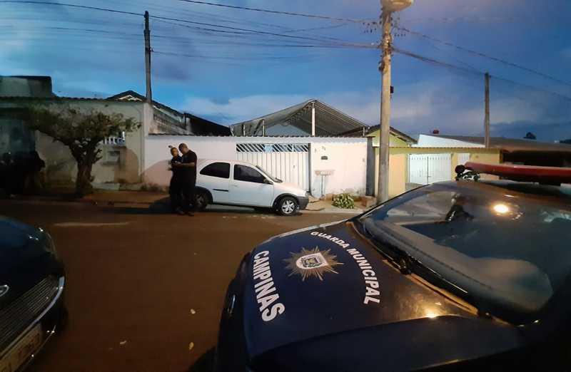 Guarda Municipal de Campinas resgatou cachorros vítimas de maus-tratos neste domingo (15) — Foto: Graziela Fávaro/EPTV
