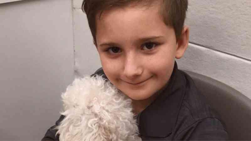 'Sei como é não ser amado', diz menino adotado que agora resgata cães idosos da rua