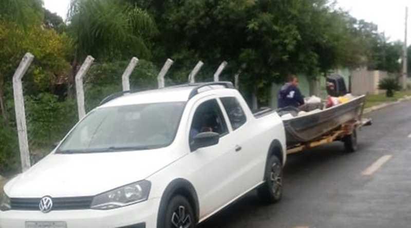 Vereador de Aruanã (GO) é preso transportando carne de animais silvestres