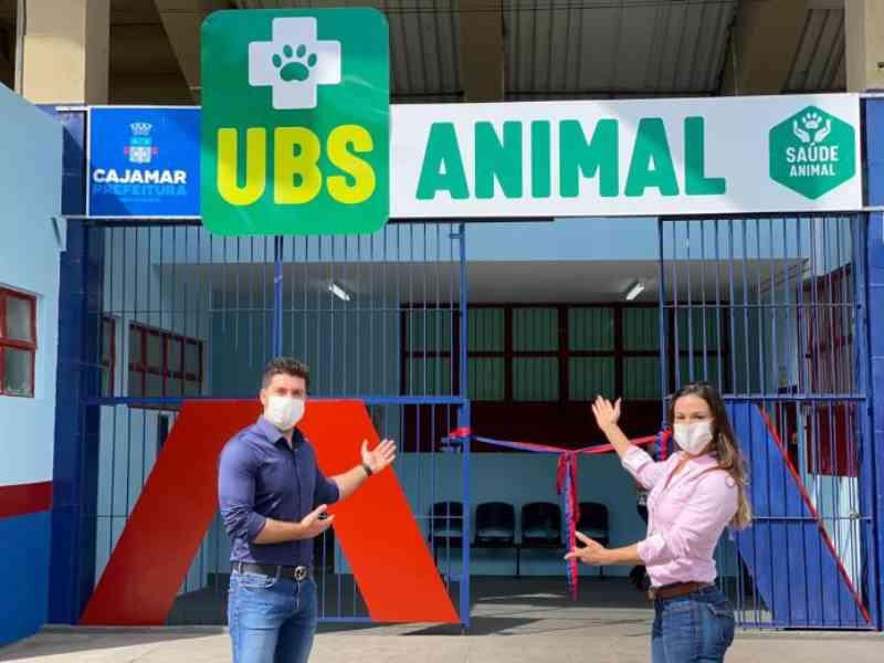 Cajamar (SP) inaugura UBS animal