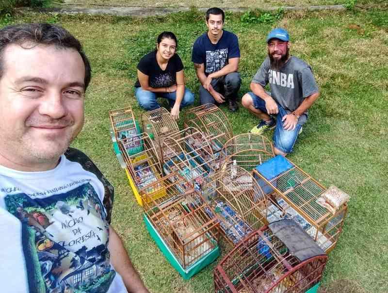 Animais silvestres apreendidos em Itu (SP) encontram refúgio em 'santuário' na região