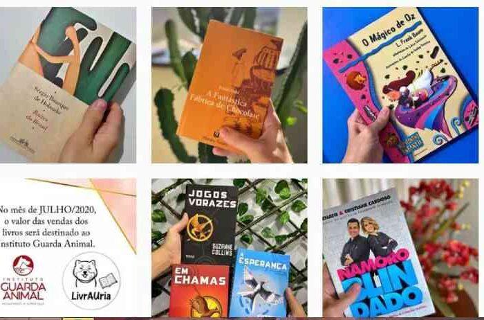 Aceitando doações, amigos criam livraria para salvar animais