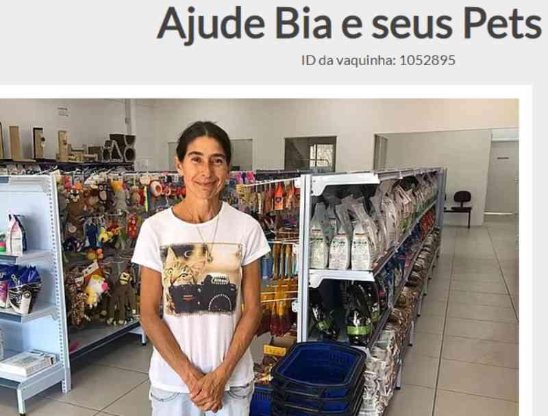Montenegrinos fazem Vakinha para ajudar 'Bia', a cuidadora de animais que perdeu tudo num incêndio