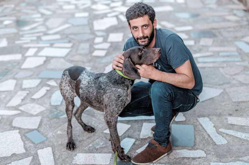 'Vim tentar salvar outros cães e encontrei o meu', perdido há dois anos em Santo Tirso