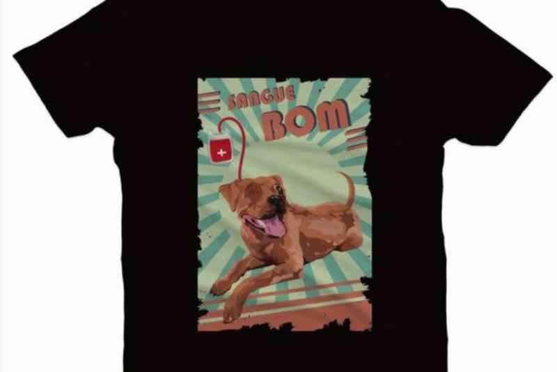 Animais abandonados são tema de coleção de camisetas em Paranavaí, PR