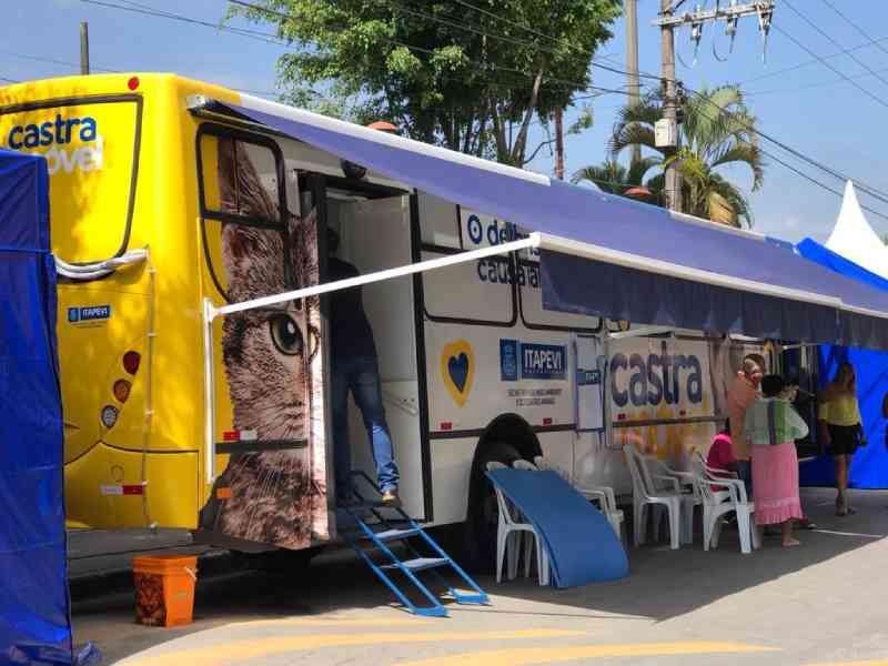 Castramóvel retoma os serviços na próxima segunda-feira (06) em Itapevi, SP