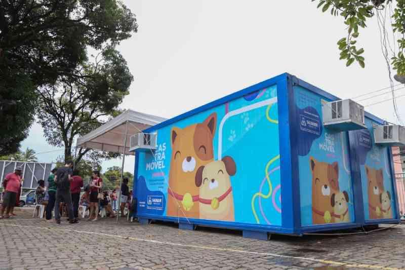 Após retomada, castramóvel suspende atendimento no bairro de Pernambués, em Salvador, BA