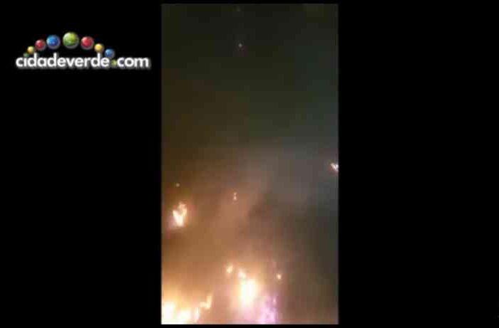 Cachorros são queimados vivos em terreno no centro de Itaueira, PI