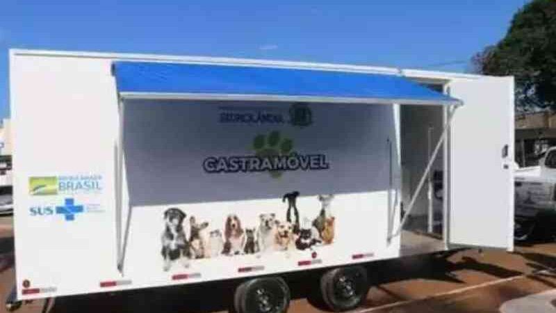 Primeiro castramóvel de Campo Grande (MS) é comprado por R$ 198 mil